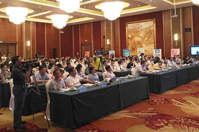 """2017 China International Internet of Things Forum"" was held on Sept 19th in Xiamen. Baima was invited to participate as a representative of the Internet of Things."