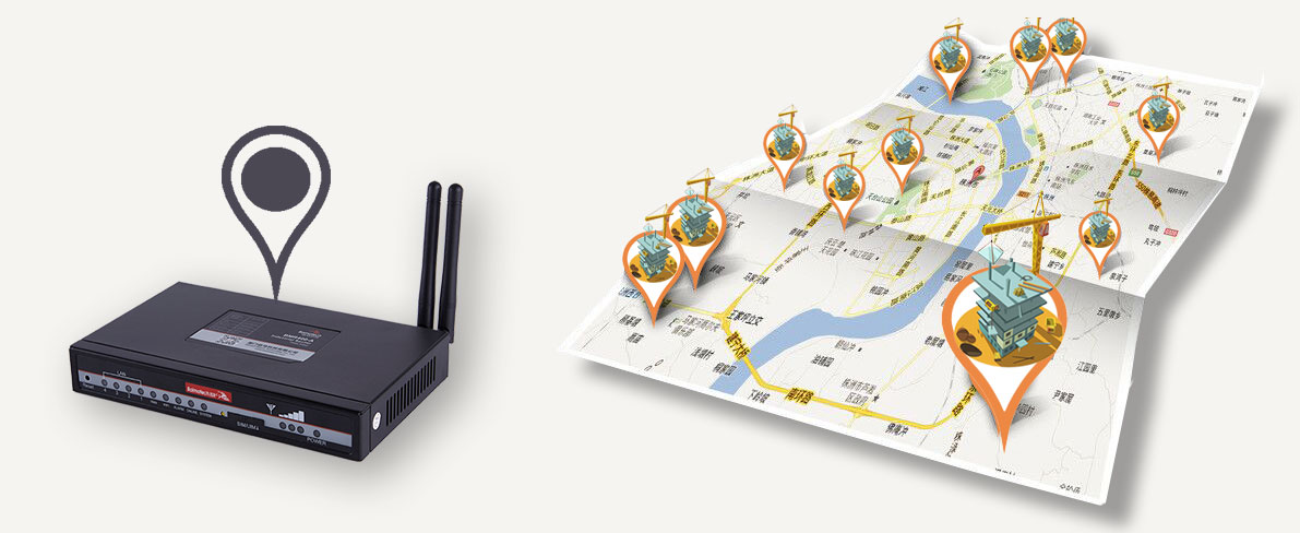 BMR400 Cellular wifi Router GPS