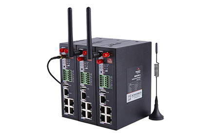 BMR500 Cellular VPN Industrial Router, DIN rail mounting, full network, high-speed routing, WiFi coverage, local storage and other flagship functions, provide a stable and reliable communication network for unattended site.