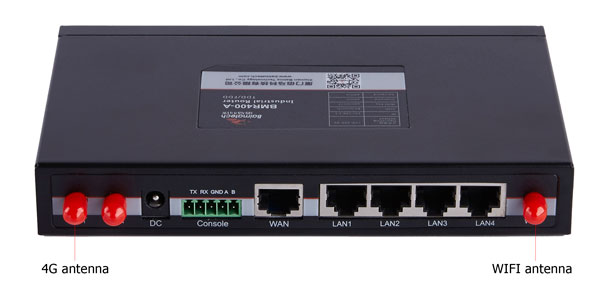 BMR400 industrial cellular router