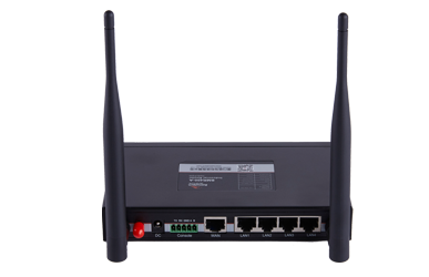 BMR400 Cellular WiFi router, first choice for video/image and other large data wireless transmission, with 4 x LANs + 1 x WAN + 1 x RS485 + 1 x RS232 interfaces, convenient for more on-site equipment to access network, 4G to WIFI, 128G storage, ensure the security transmission of important data packet.